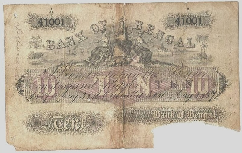 Bank of Bengal Britannia Series Currency