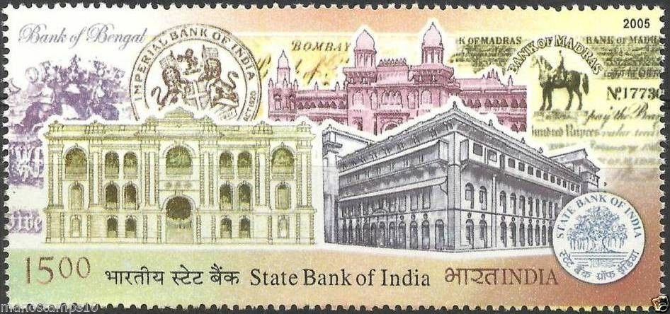 SBI 200 Years Stamp