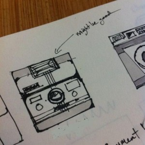 Early sketches [company name masked]
