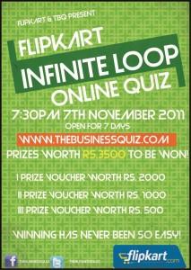 Infinite Loop - Flipkart dot com TBQ Online Quiz
