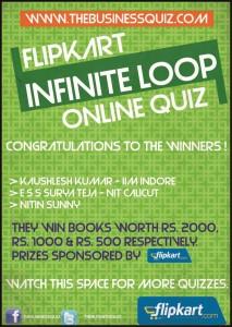 Flipkart TBQ The Business Quiz Online Quiz Results