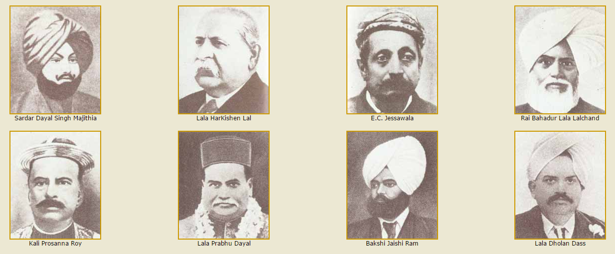 Founders of Punjab National Bank